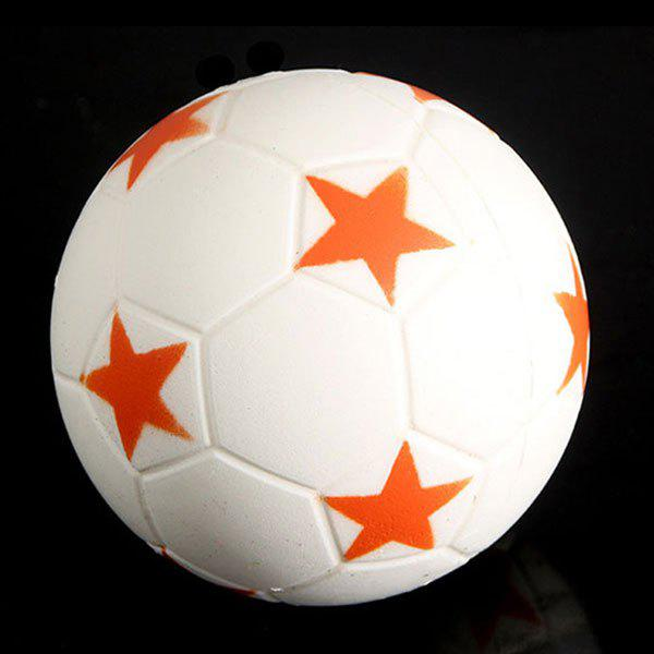 Squeeze Sport Ball Slow Recovery Stress Reliever Toy - ORANGE