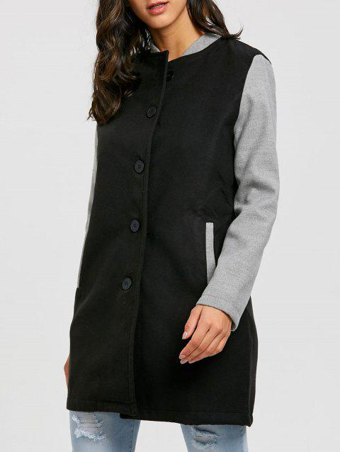Tunic Baseball Jacket - BLACK L