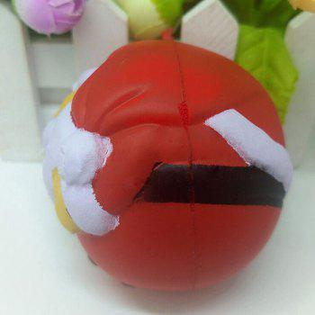 Ugly Simulation Santa Claus Slow Rising Christmas Squishy Toy -  COLORMIX