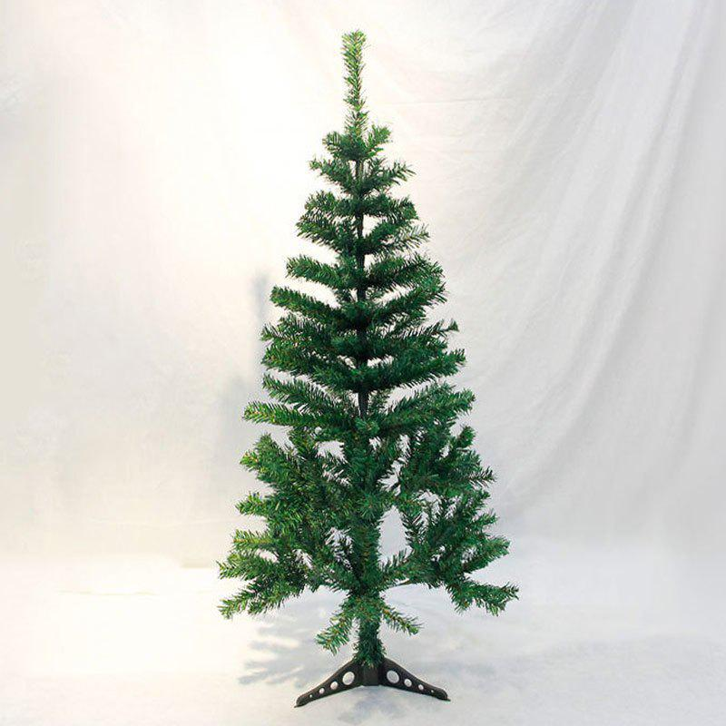Artificial Upside Down Hanging Christmas Decoration Tree - GREEN