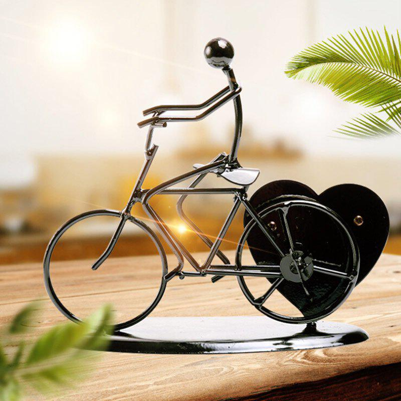 Valentine's Day Novelty Gifts Heart Shaped Iron Bicycle Music Box