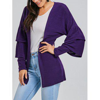 Open Front Tunic Cardigan