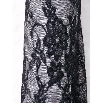 Criss Cross Lace Panel Arm Sleeves - COLORMIX M