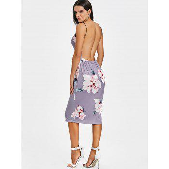 Backless Slip Dress - SMASHING L