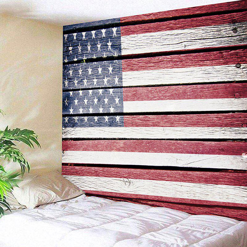 American Flag Pattern Wall Decor Hanging Tapestry   US FLAG W91 INCH * L71  INCH