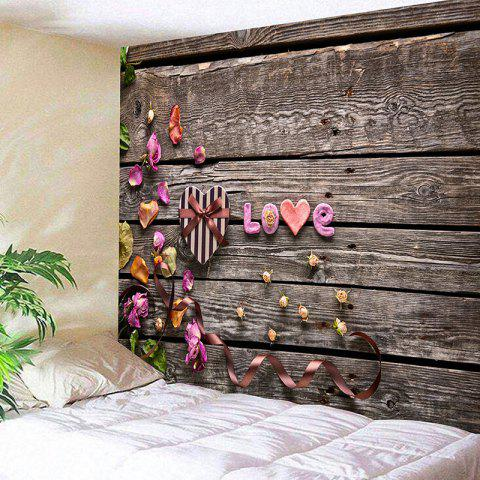 Limited Offer 2019 Valentine S Day Gift Box Wood Grain Love Pattern