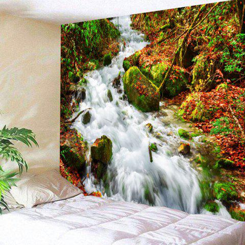 Wall Decor Stream Pattern Bedroom Tapestry - COLORMIX W91 INCH * L71 INCH