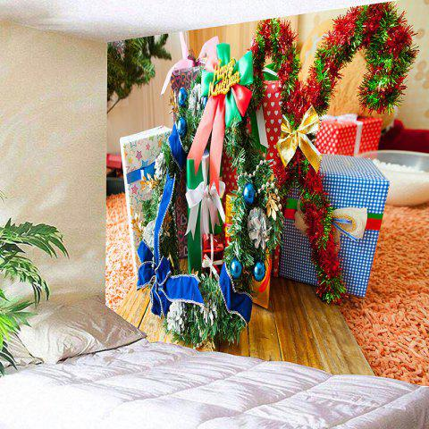 Valentine's Day Gift Box Patterned Wall Hanging Tapestry - COLORFUL W91 INCH * L71 INCH