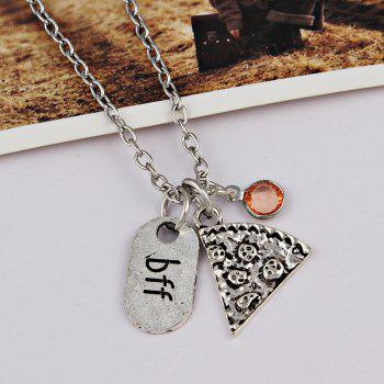 BFF Carving Decoration Friendship Necklace - JACINTH