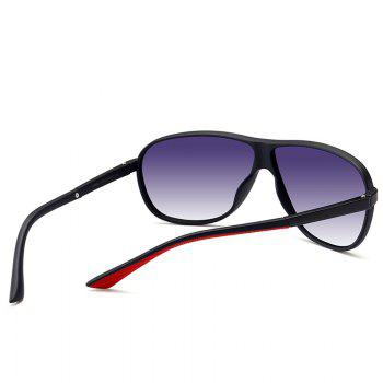 Anti-fatigue Full Frame Driver Sunglasses -  BLACK FRAME/GREY LENS
