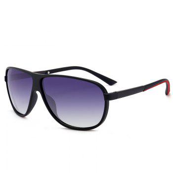 Anti-fatigue Full Frame Driver Sunglasses - BLACK FRAME+GREY LENS BLACK FRAME/GREY LENS