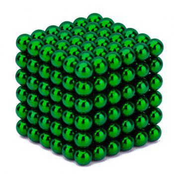 216 Pcs 5mm Puzzle Toys Magnetic Balls - GREEN GREEN