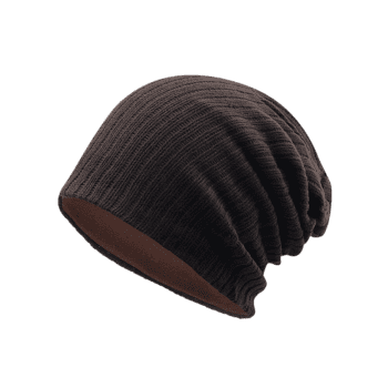 Outdoor Crochet Knitted Lightweight Beanie - CAPPUCCINO