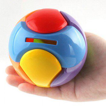 DIY Building Block Puzzle Toy Deposit Money Ball - COLORFUL