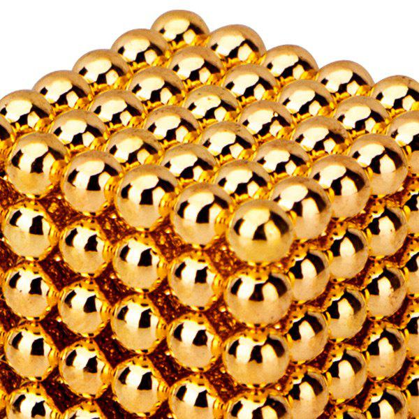 216 Pcs 5mm Puzzle Toys Magnetic Balls - GOLDEN