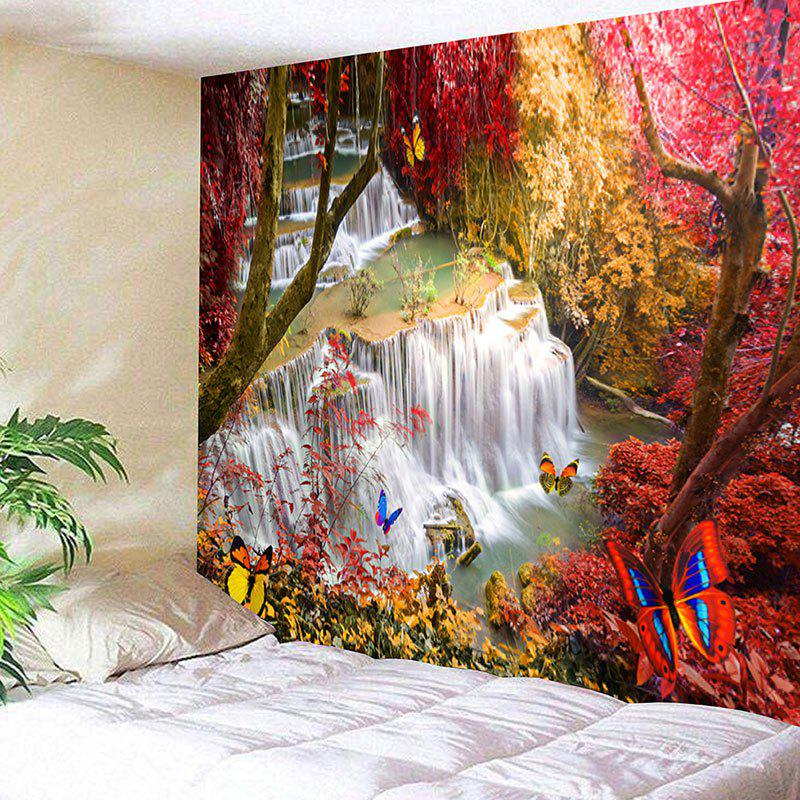 Landscape Wall Hanging Deco Forest Trees Tapestry landscape print wall hanging bedroom tapestry