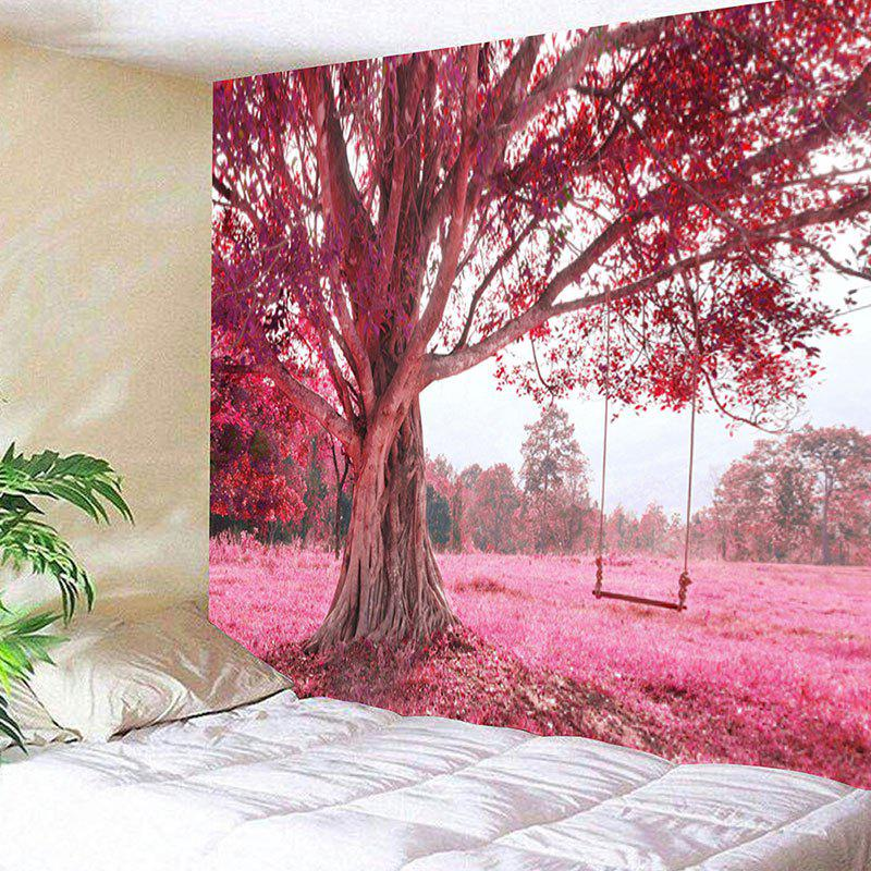 Tree and Swing Printed Wall Hanging Tapestry outer space printed wall hanging tapestry