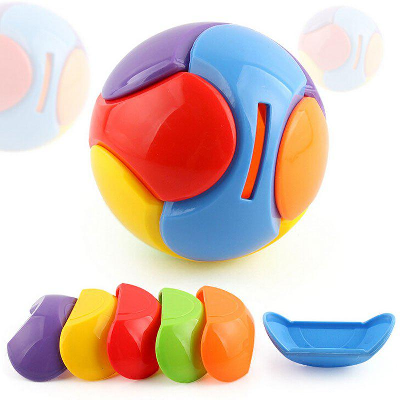 DIY Building Block Puzzle Toy Deposit Money Ball