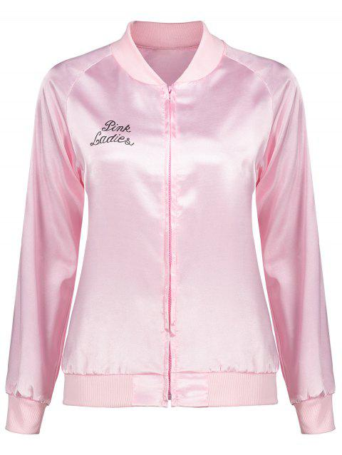 Bomber Jacket - PINK S