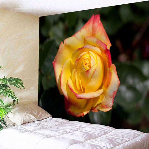 Wall Hanging Valentine's Day Rose Print Tapestry - COLORMIX W79 INCH * L71 INCH