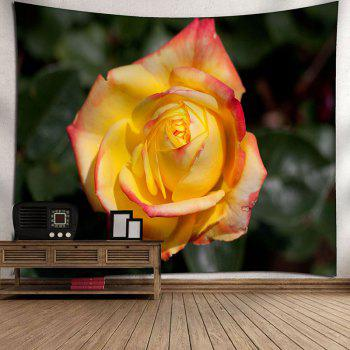 Wall Hanging Valentine's Day Rose Print Tapestry - COLORMIX COLORMIX