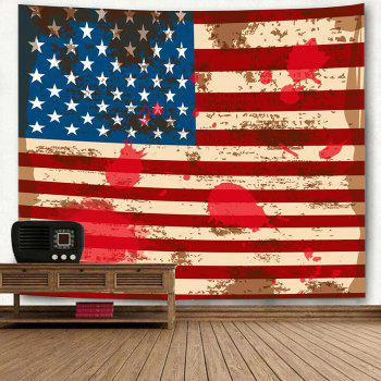 American Flag Printed Decoration Hanging Tapestry - US FLAG W91 INCH * L71 INCH