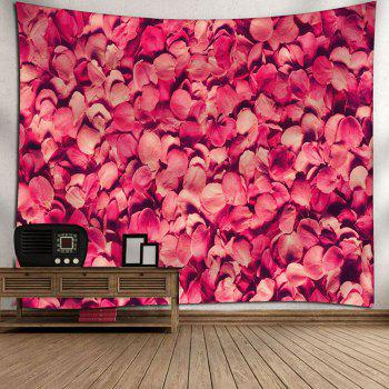 Wall Hanging Valentine's Day Petals Printed Tapestry - PAPAYA W79 INCH * L59 INCH