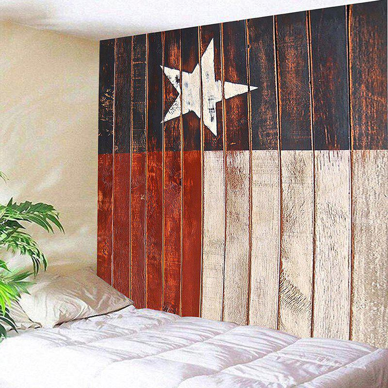 Grainy Star Print Wall Hanging Tapestry подушка esspero grainy подушка для беременных star 108070832