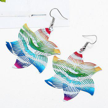 Valentine's Day Gift Floral Drop Earrings - COLORMIX
