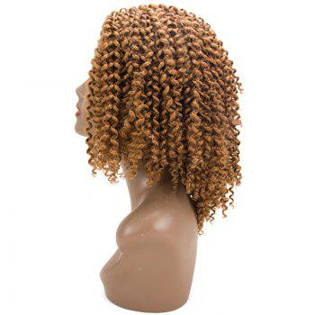 Short Twist Braids Jerry Curly Synthetic Hair Extensions -  GOLDEN