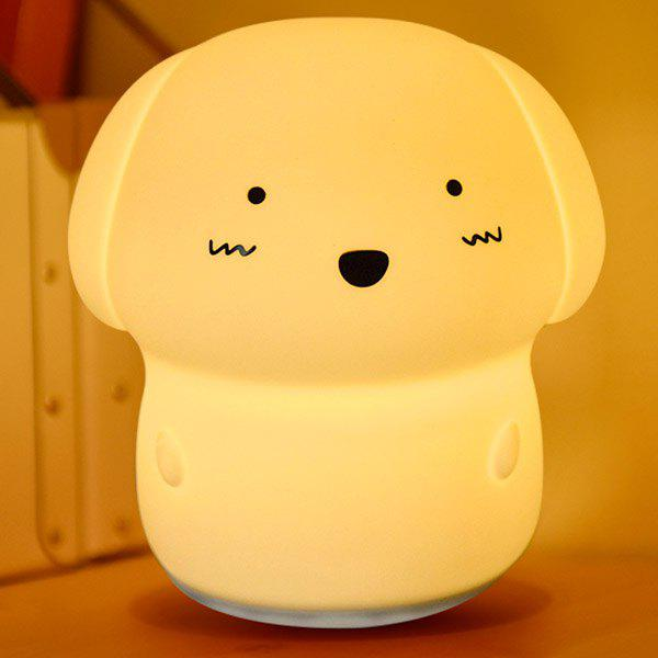 7 Colors Changing Sound Recording Adorable Dog Nightlight ultra loud bicycle air horn truck siren sound 120db