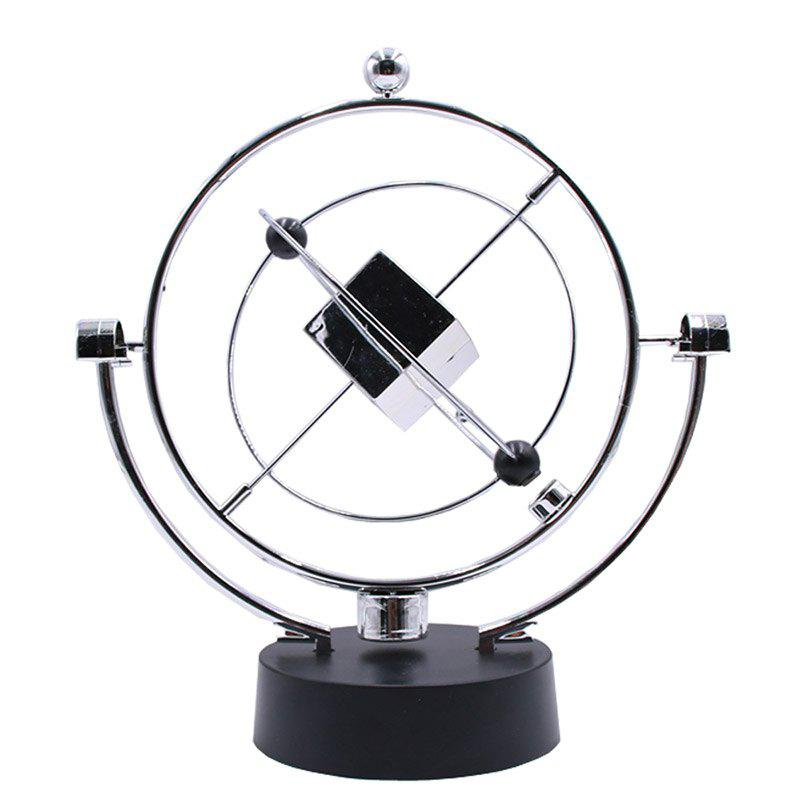 Celestial Motion Model Physics Perpetual Rotary Pendulum Orbital Desk Toy - BLACK 20*20*24CM