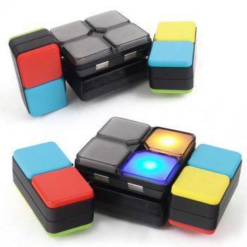 Educational Puzzle Toy Challenge Electronic Music Magic Cube - COLORFUL