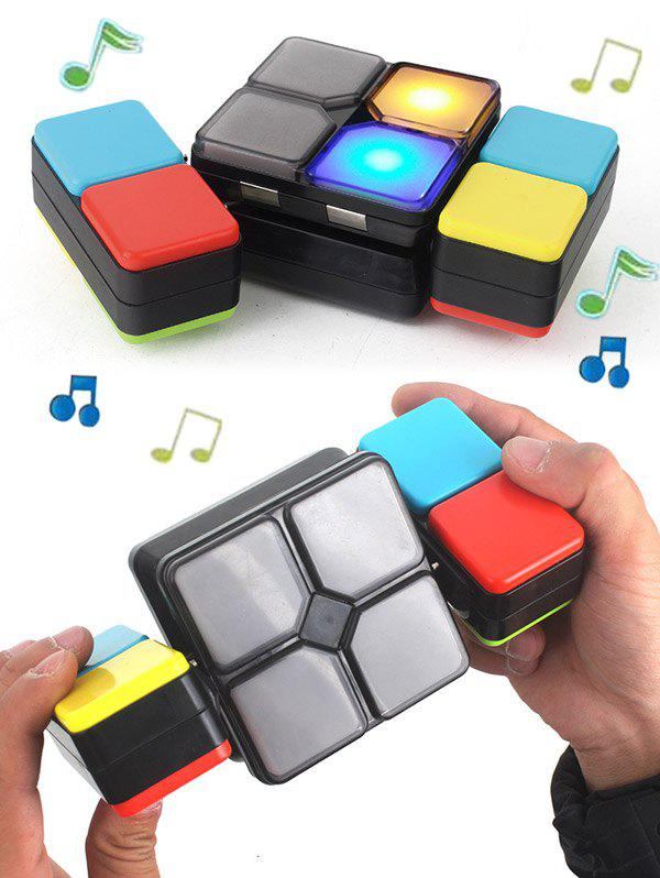 Educational Puzzle Toy Challenge Electronic Music Magic Cube asymmetrical plus size flare sleeve tunic t shirt