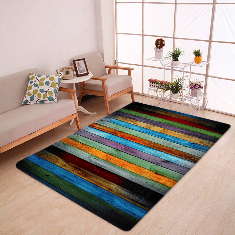 Coral Velvet Colorful Stripe Large Area Rug 24 bingo daubers colorful large 4 oz 120ml six different colors