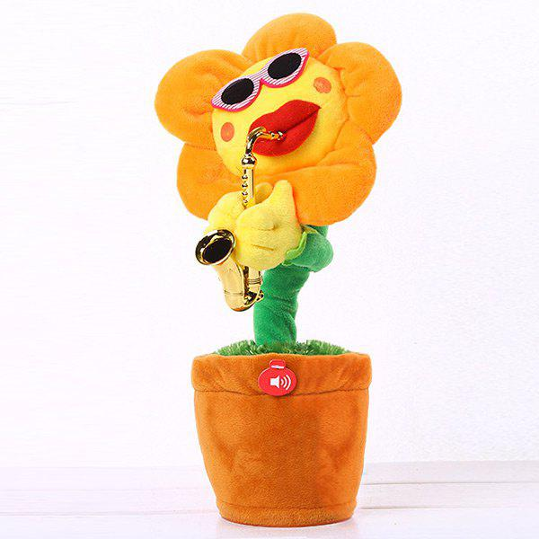Electric Music Sunflower Can Sing and Dance monkey music let s sing and play