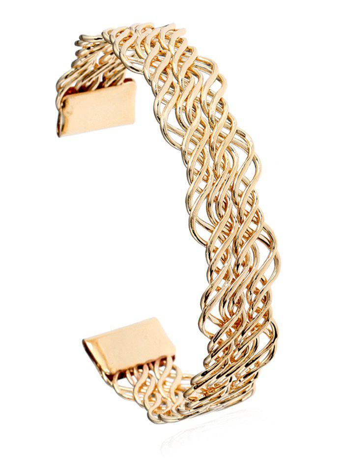 Hollow Out Twist Cuff Bracelet medellin nacional