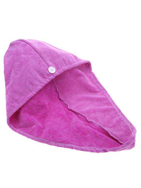 Hair Drying Towel Absorbent Dry Hair Turban - PURPLE
