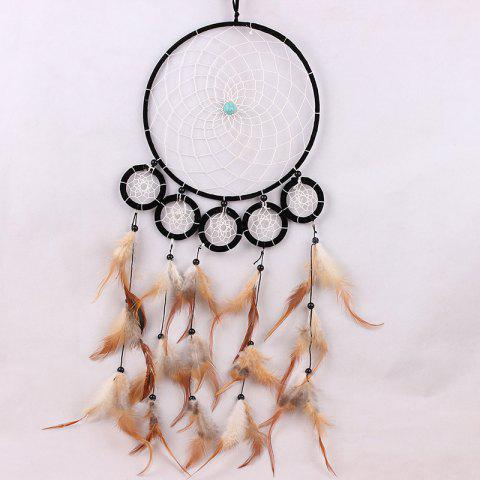 Handmade Native American Dream Catcher Wall Hanging Art - COLORMIX