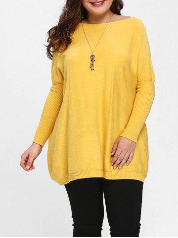 2018 Plus Size Yellow Sweater Online Store. Best Plus Size Yellow ...