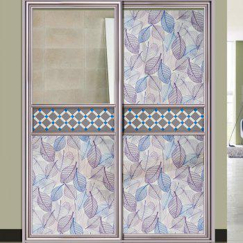 One Roll Leaf Pattern Window Film Sticker - COLORMIX COLORMIX