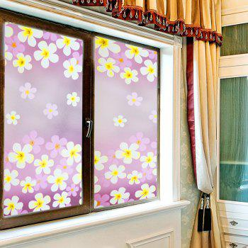 One Roll Flowers Pattern Window Film Stickers - COLORMIX COLORMIX