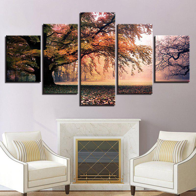 Forest Grassland Print Split Canvas Wall Art Paintings 1 4