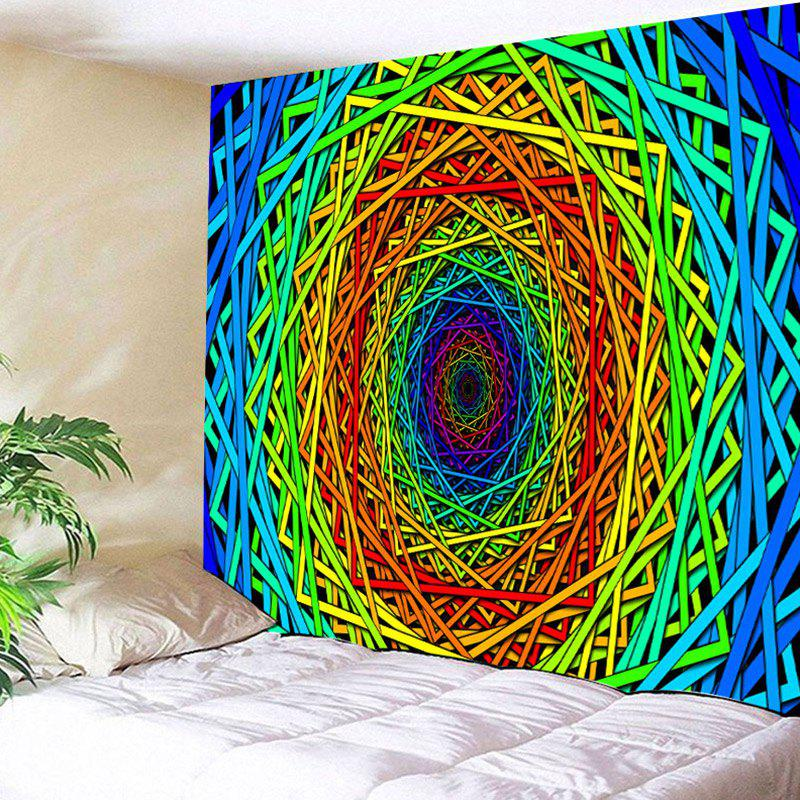 Abstract Psychedelic Geometric Printed Wall Art Tapestry pop psychedelic