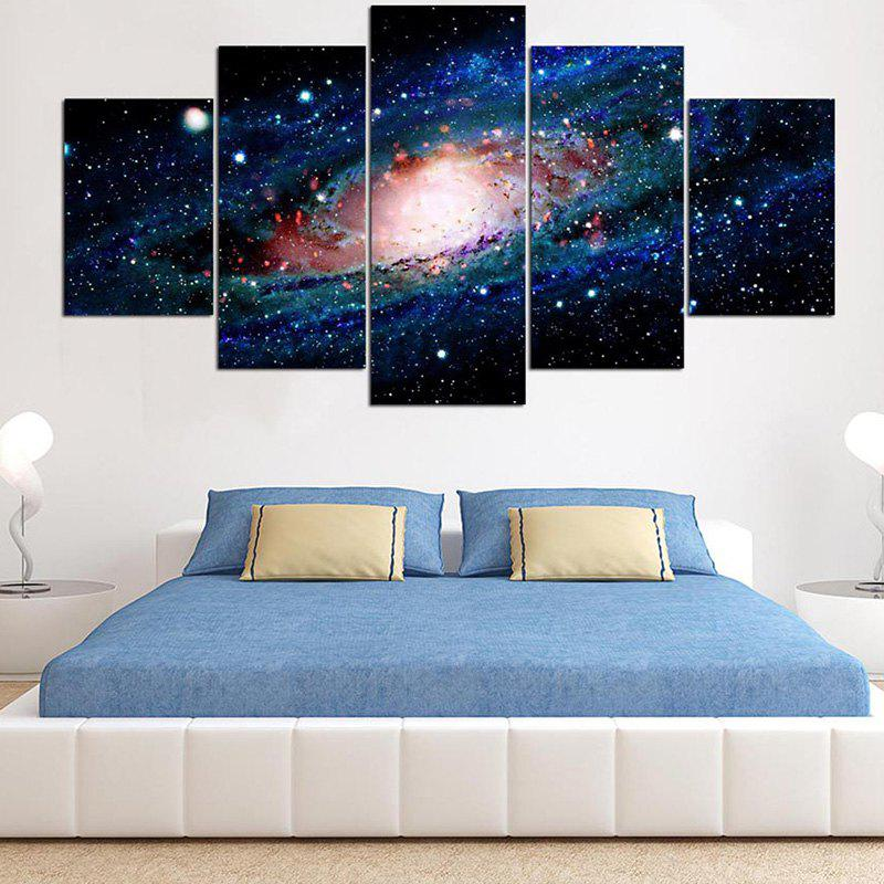 Decorative Cosmic Starry Sky Printed Canvas Wall Art Paintings horses printed unframed wall art canvas paintings