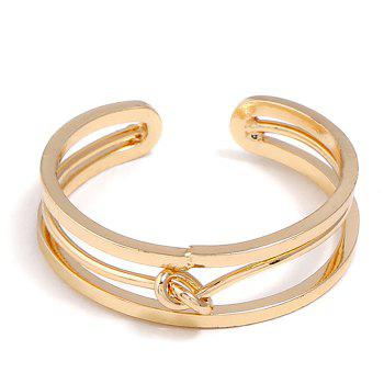 Open Alloy Hollow Out Ring - GOLDEN GOLDEN