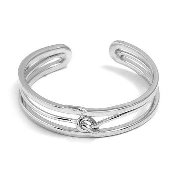 Open Alloy Hollow Out Ring - SILVER SILVER