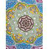 Bandana Floral Fringed Round Beach Throw - COLORMIX ONE SIZE