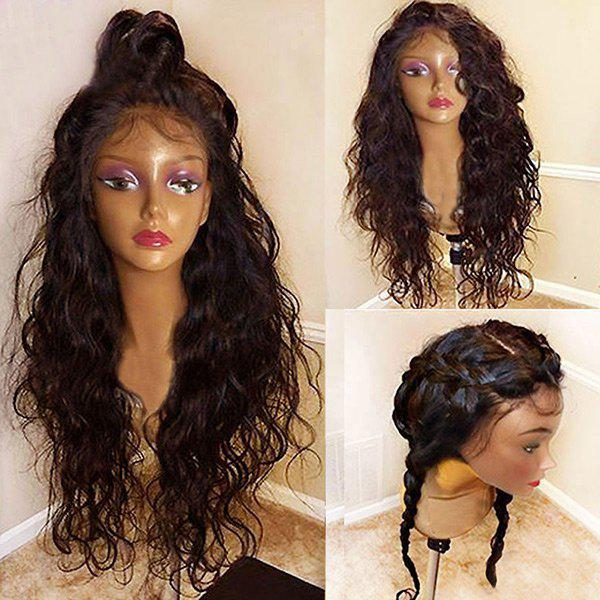 Long Free Part Bouffant Natural Wavy Synthetic Lace Front Wig long ombre blonde wavy wig cheap good quality for sale heat resistant synthetic lace front wig for black women natural looking