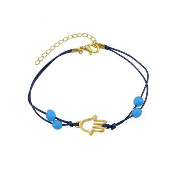 Hollow Out Bead Bracelet - GOLDEN